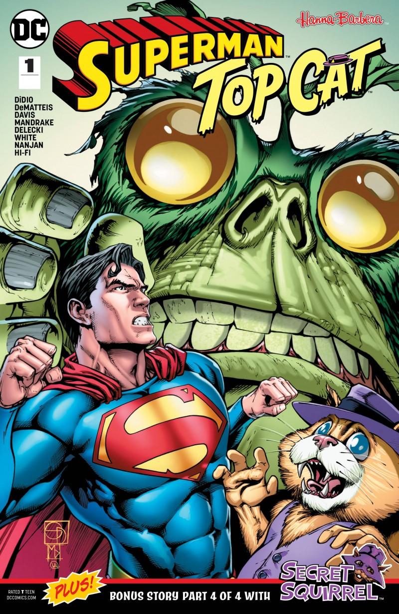 Superman Top Cat Special CVR A