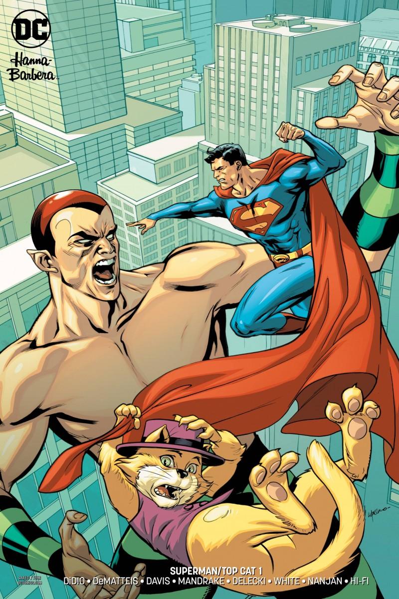 Superman Top Cat Special CVR B