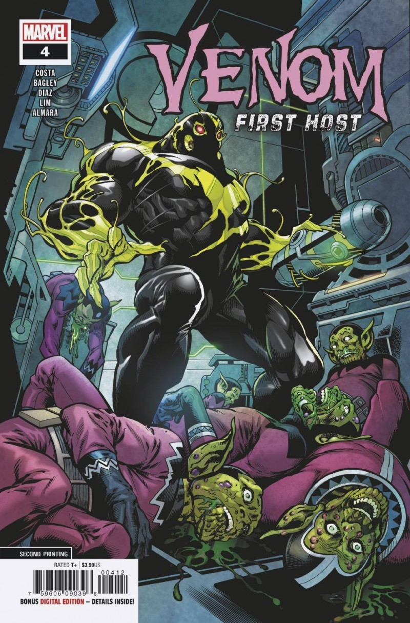 Venom First Host #4 Second Printing
