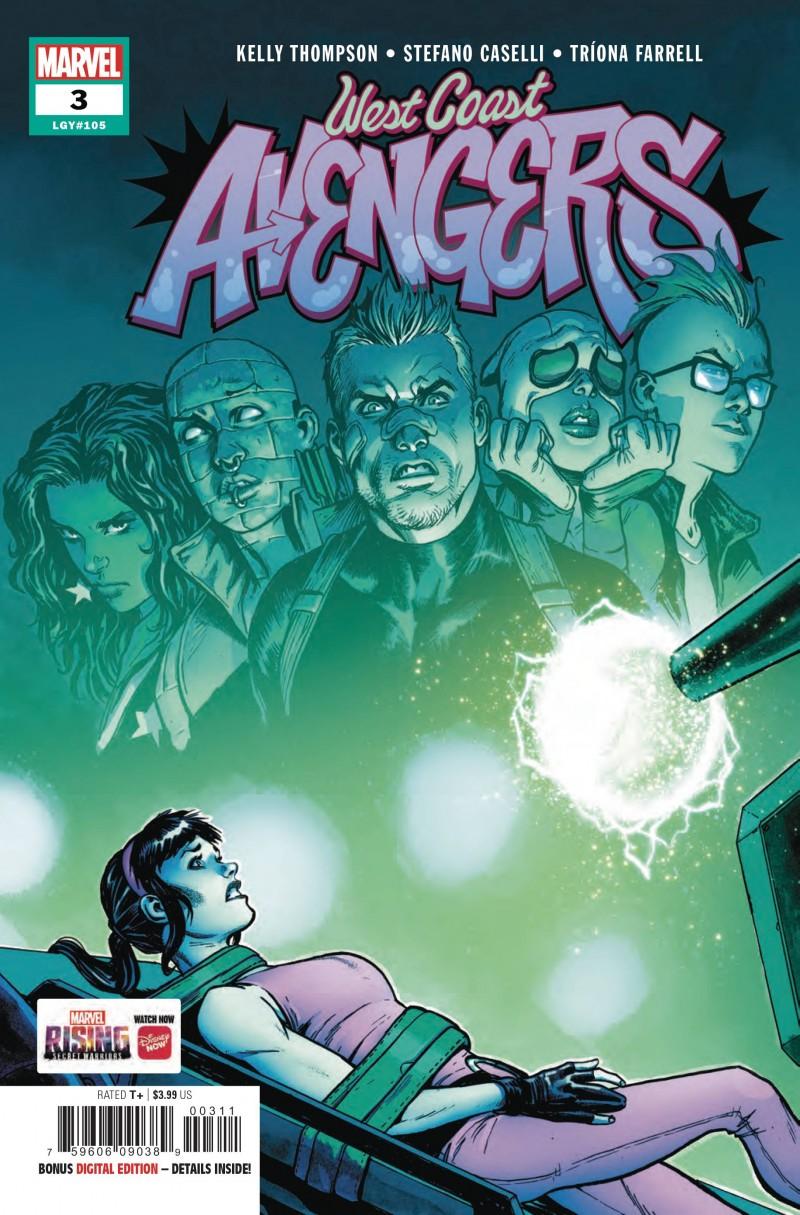 West Coast Avengers V3 #3