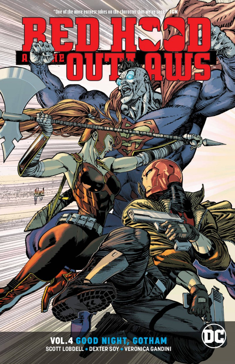 Red Hood and the Outlaws TP Rebirth V4 Good Night Gotham