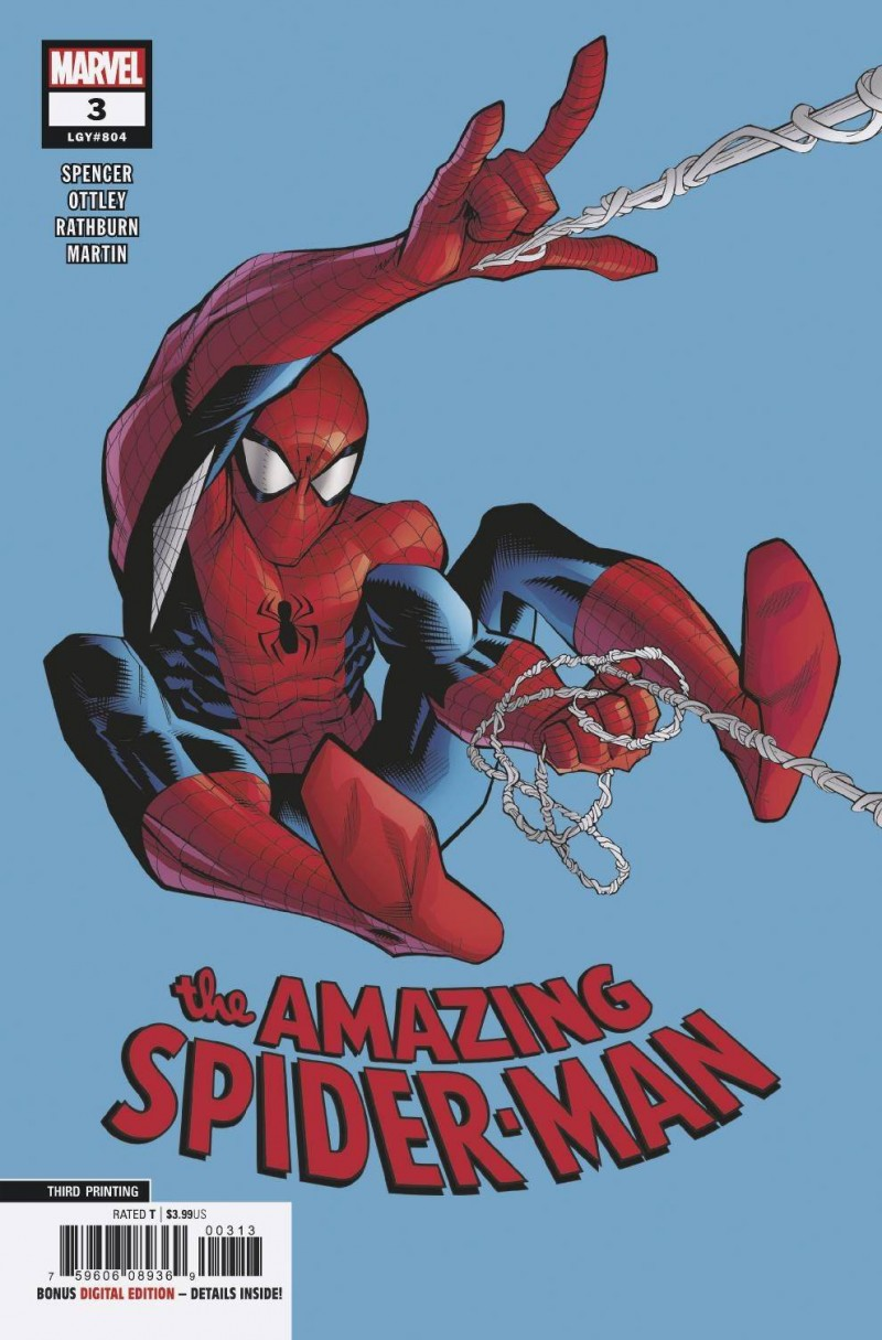 Amazing Spider-Man V5 #3 Third Printing