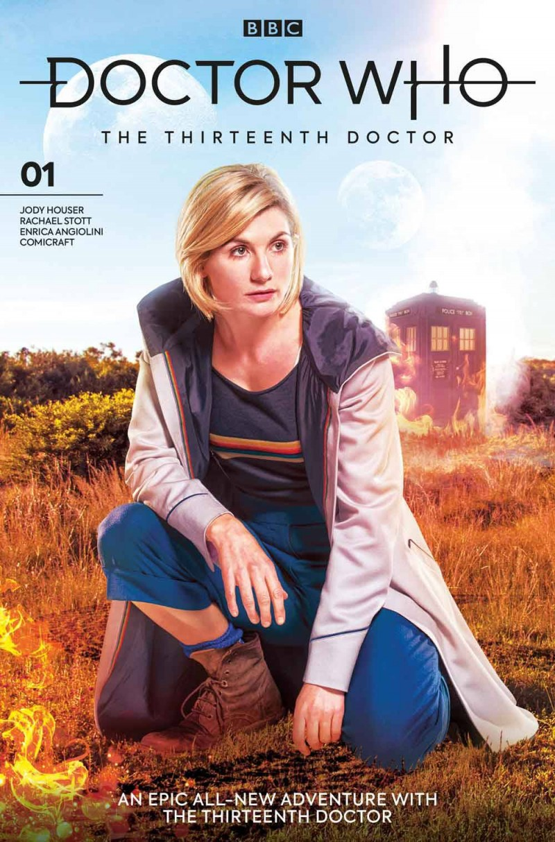 Doctor Who 13th #1 CVR B