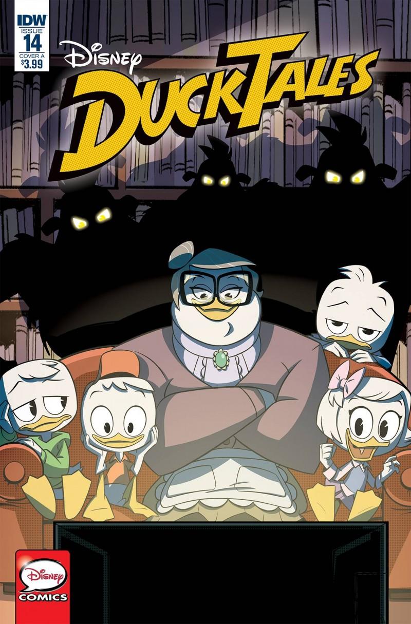 Ducktales #14 CVR A Fontana