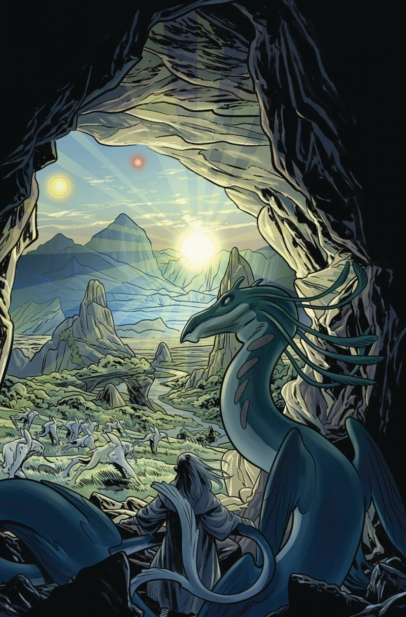 Jim Henson Beneath Dark Crystal #4 CVR A Dewey