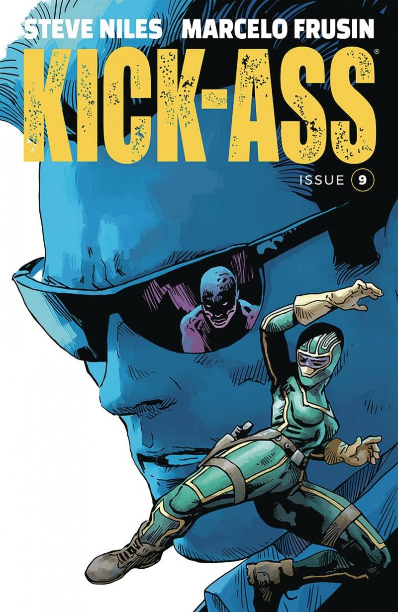 Kick-Ass  #9 CVR A Frusin