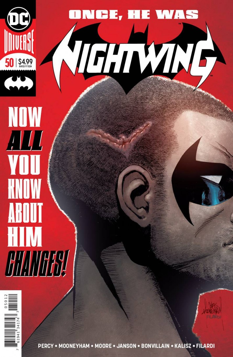Nightwing V3 #50 Second Printing
