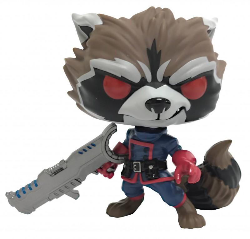 Funko Pop Marvel GOTG Comic Rocket Raccoon Classic PX