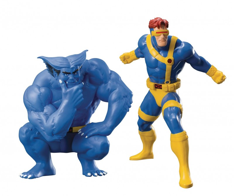 Marvel Statue Artfx X-Men 92 Cyclops and Beast 2-Pack