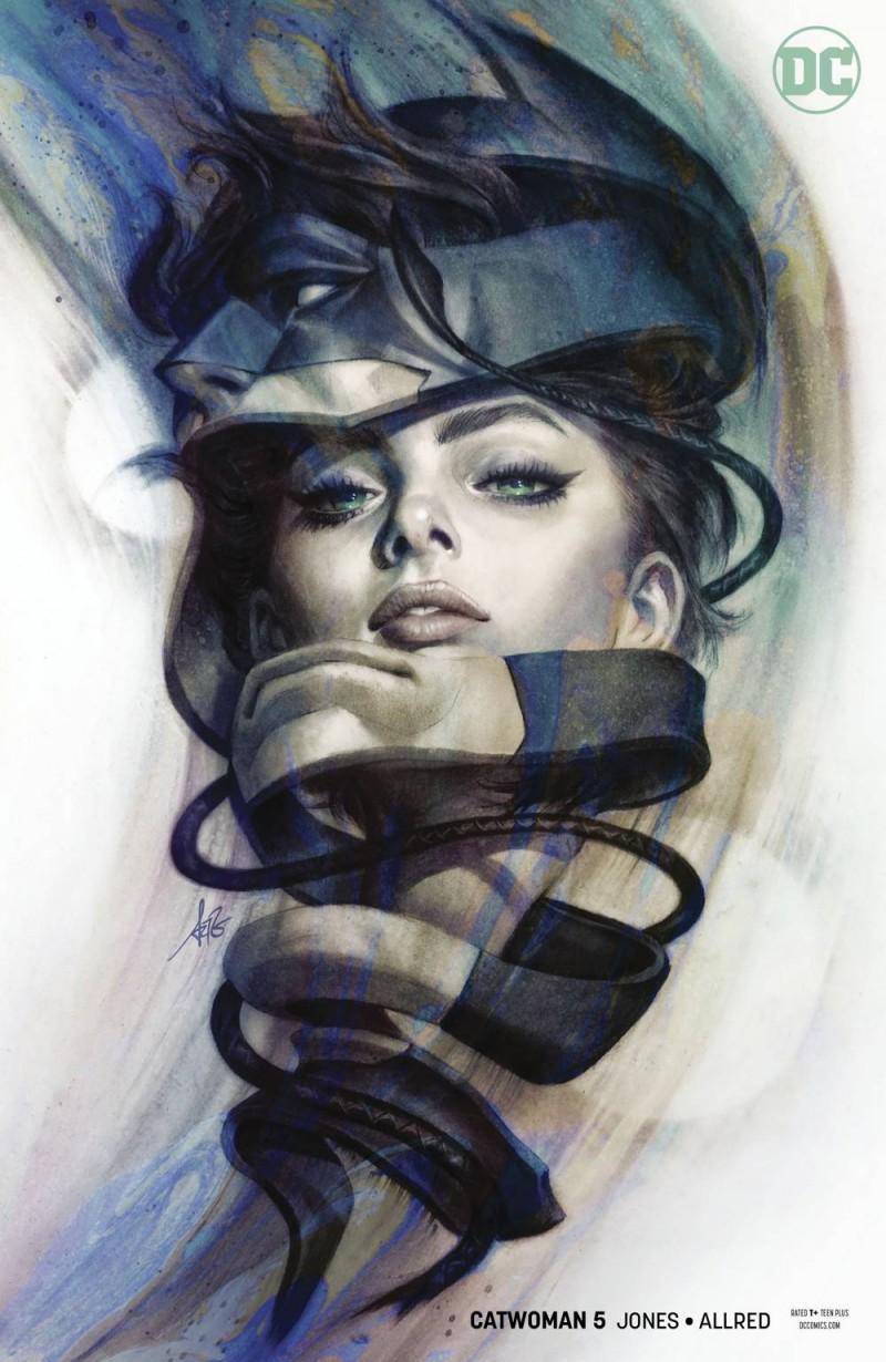 Catwoman V4 #5 CVR B