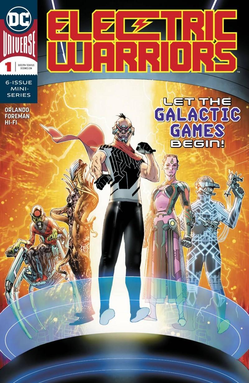Electric Warriors #1 CVR A