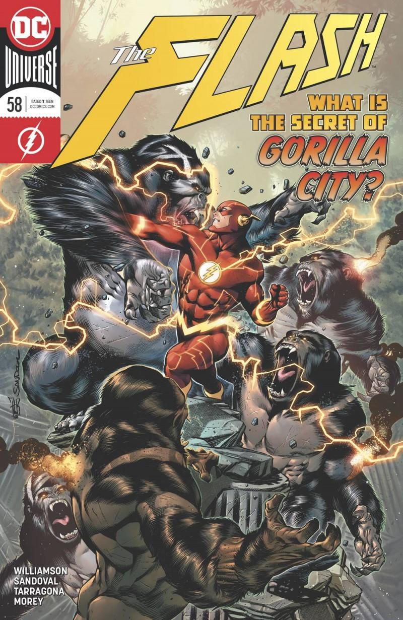 Flash  #58 CVR A