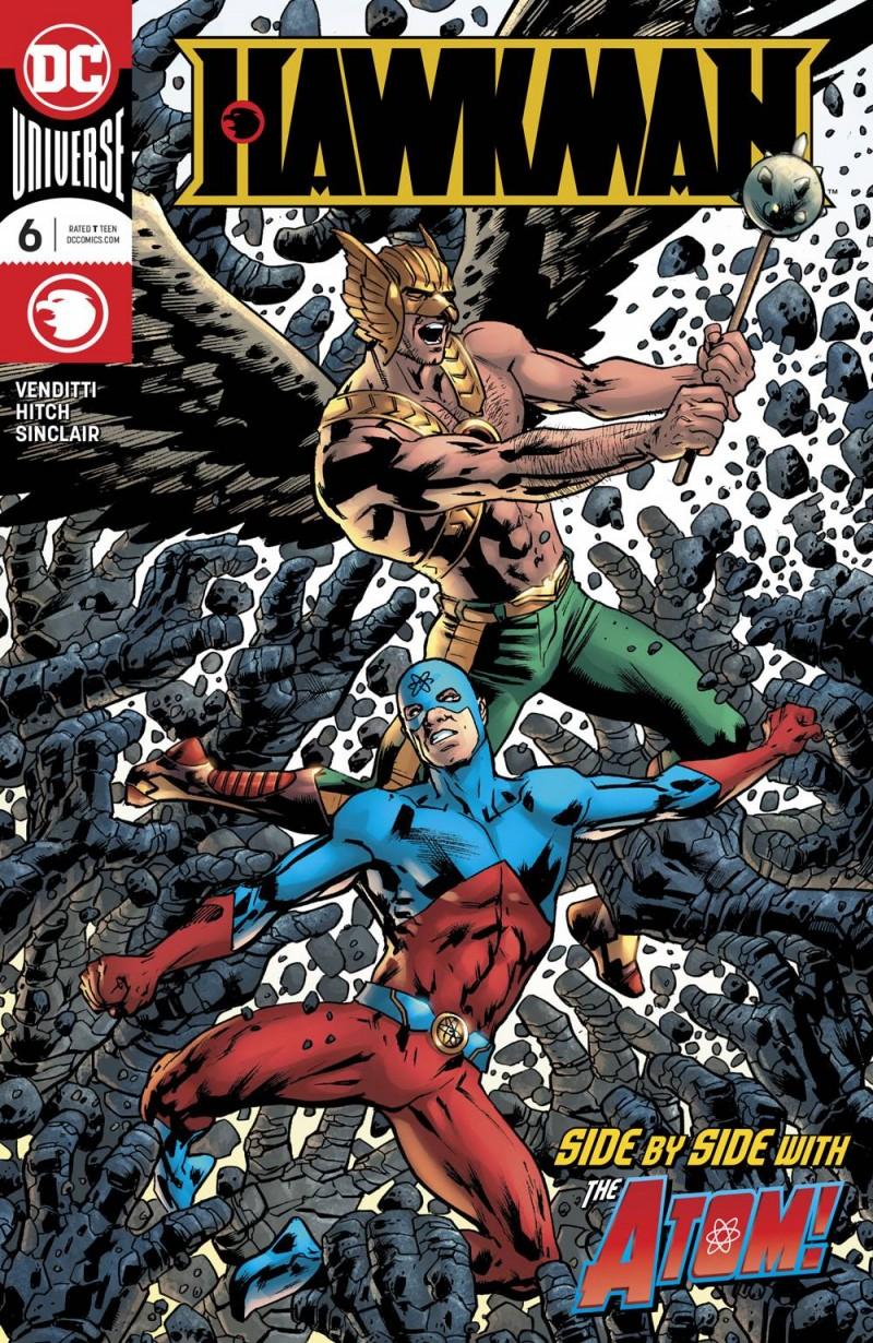Hawkman V5 #6 CVR A