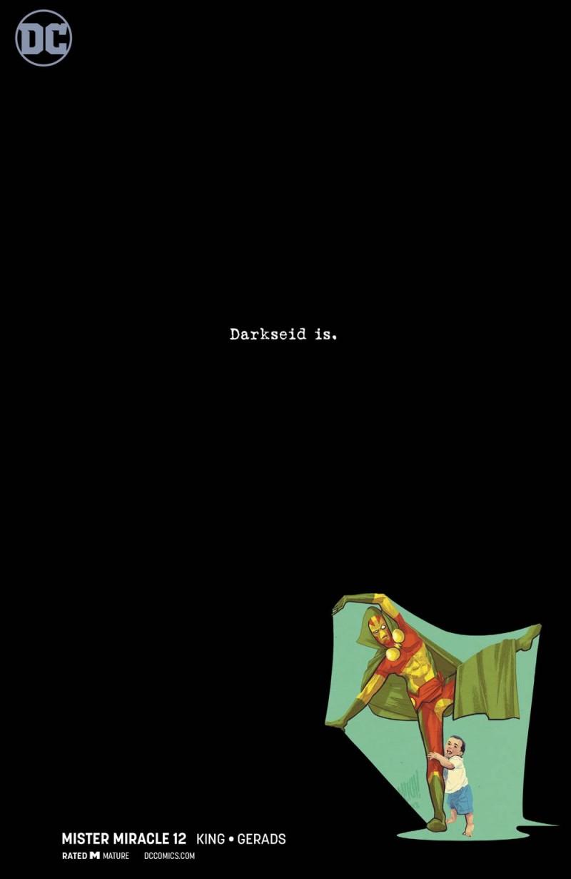 Mister Miracle #12 CVR B