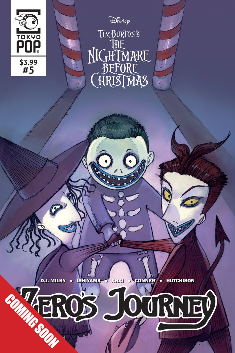 Nightmare Before Christmas Zeros Journey #5