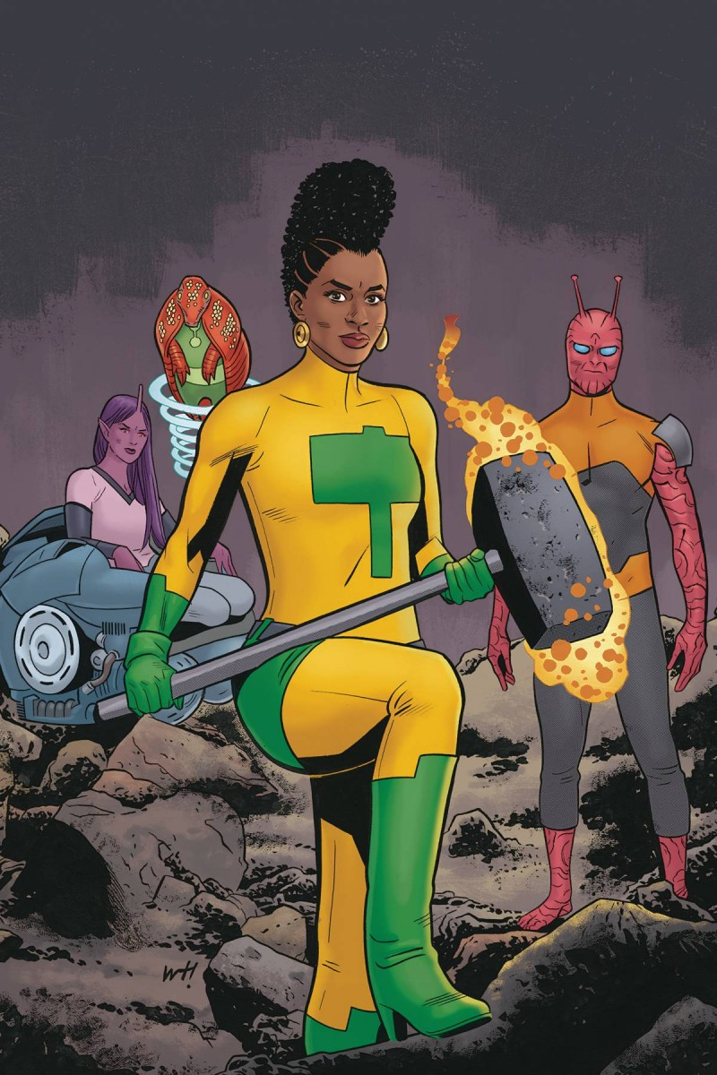 Quantum Age From the World of Black Hammer #4 CVR A