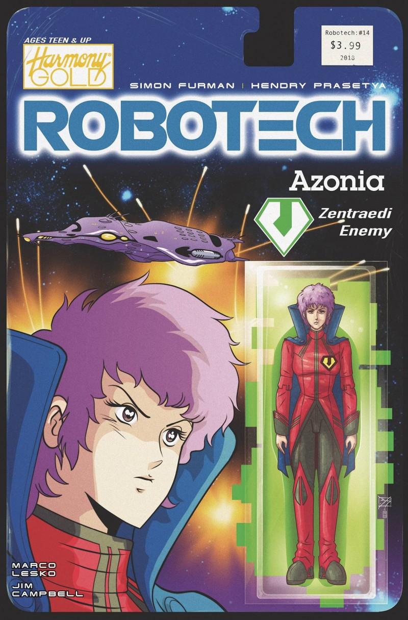 Robotech #14 CVR B