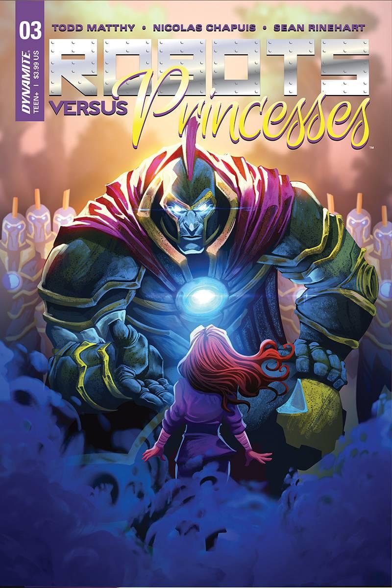 Robots Vs Princesses #3