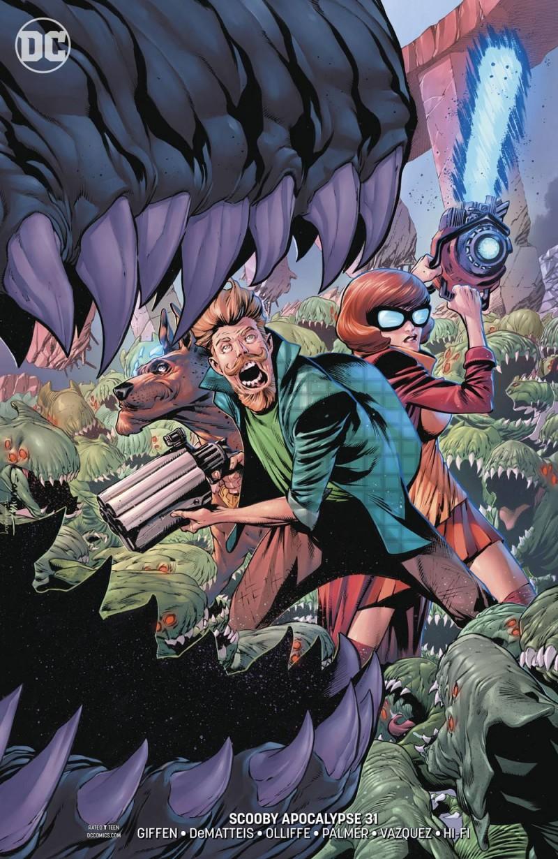 Scooby Apocalypse #31 CVR B