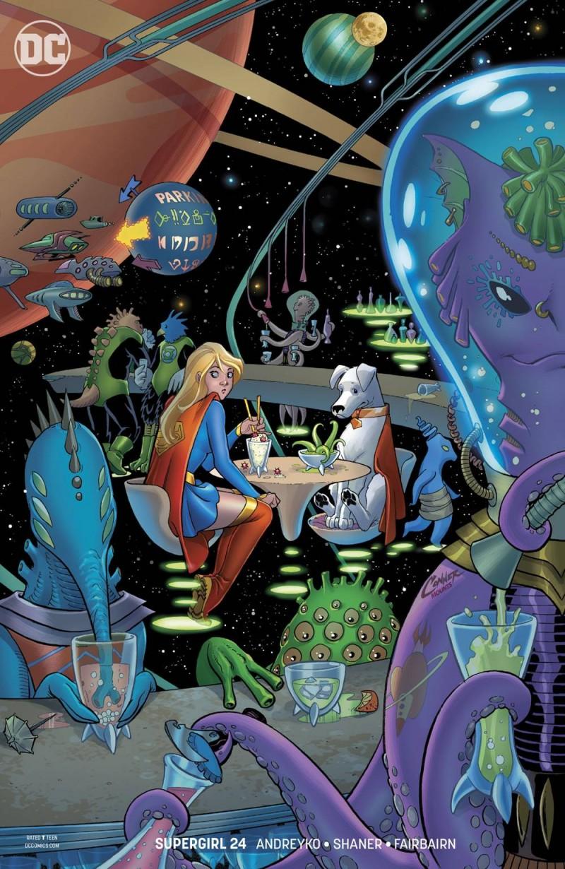 Supergirl  #24 CVR B