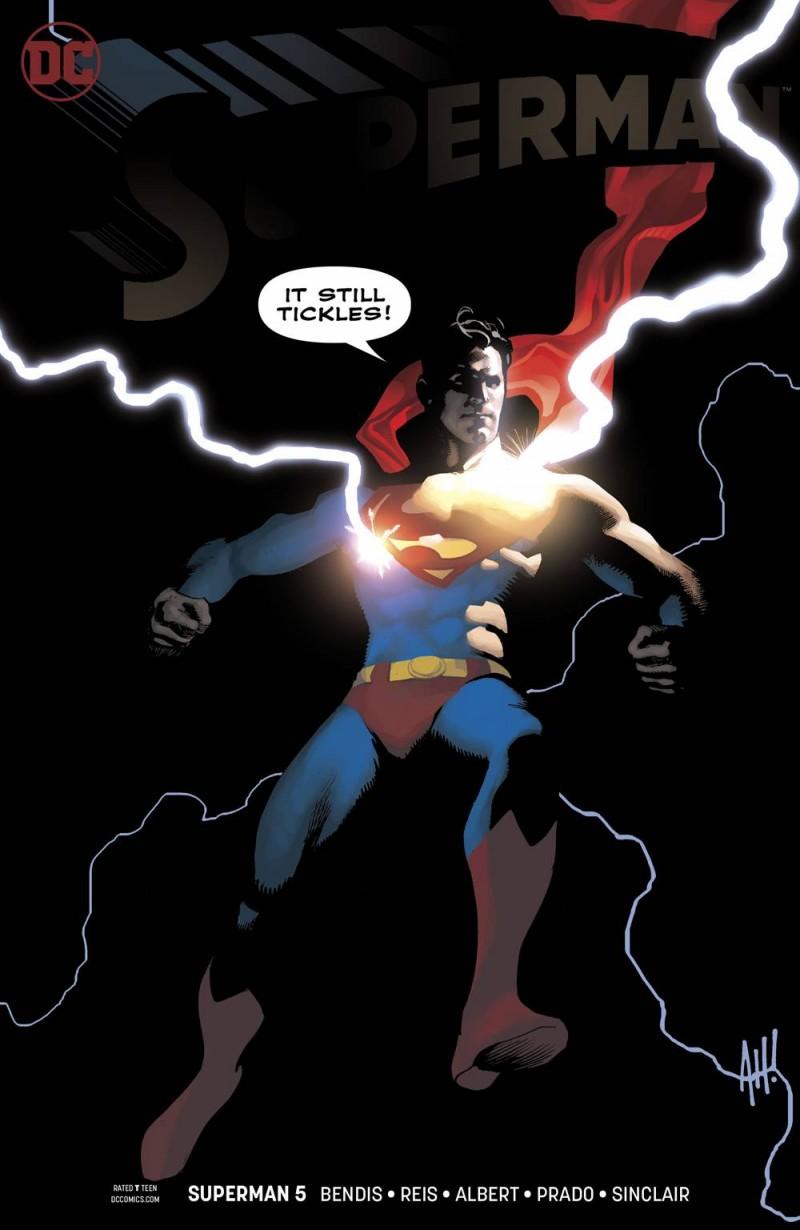 Superman  #5 CVR B