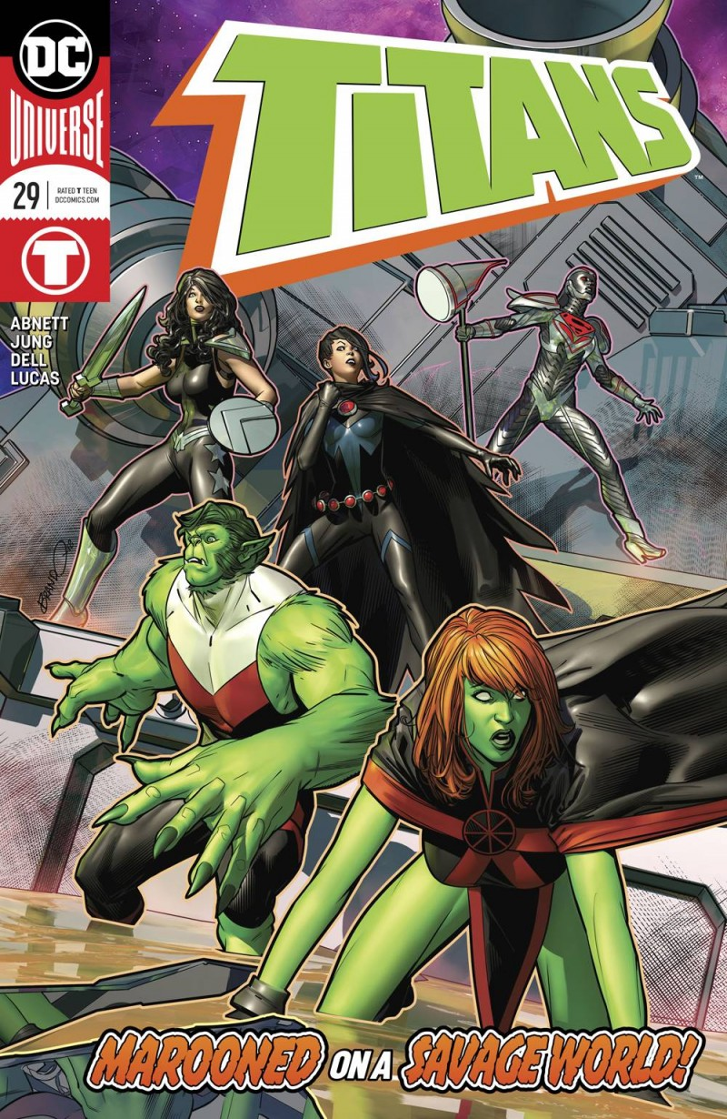 Titans V3 #29 CVR A