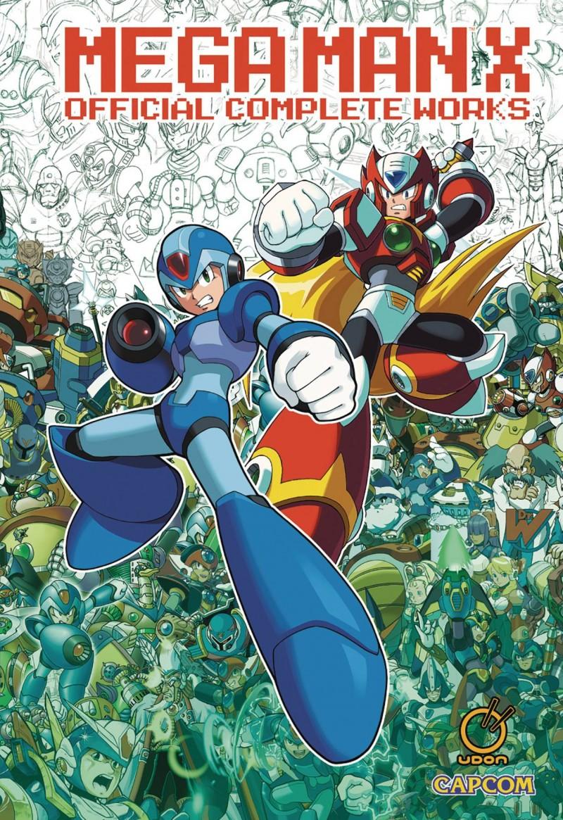 Mega Man HC Mega Man X Official Complete Works