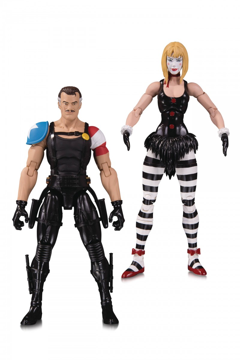 DC Direct Doomsday Clock AF 2-Pack Comedian and Marionette