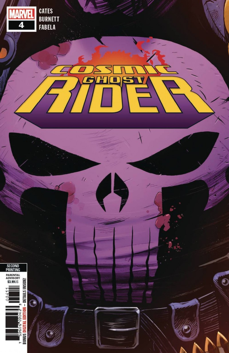 Cosmic Ghost Rider #4 Second Printing