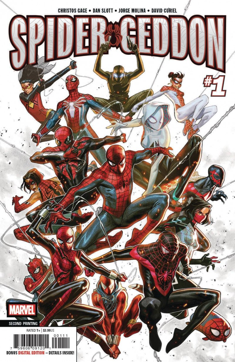 Spider-Geddon #1 Second Printing
