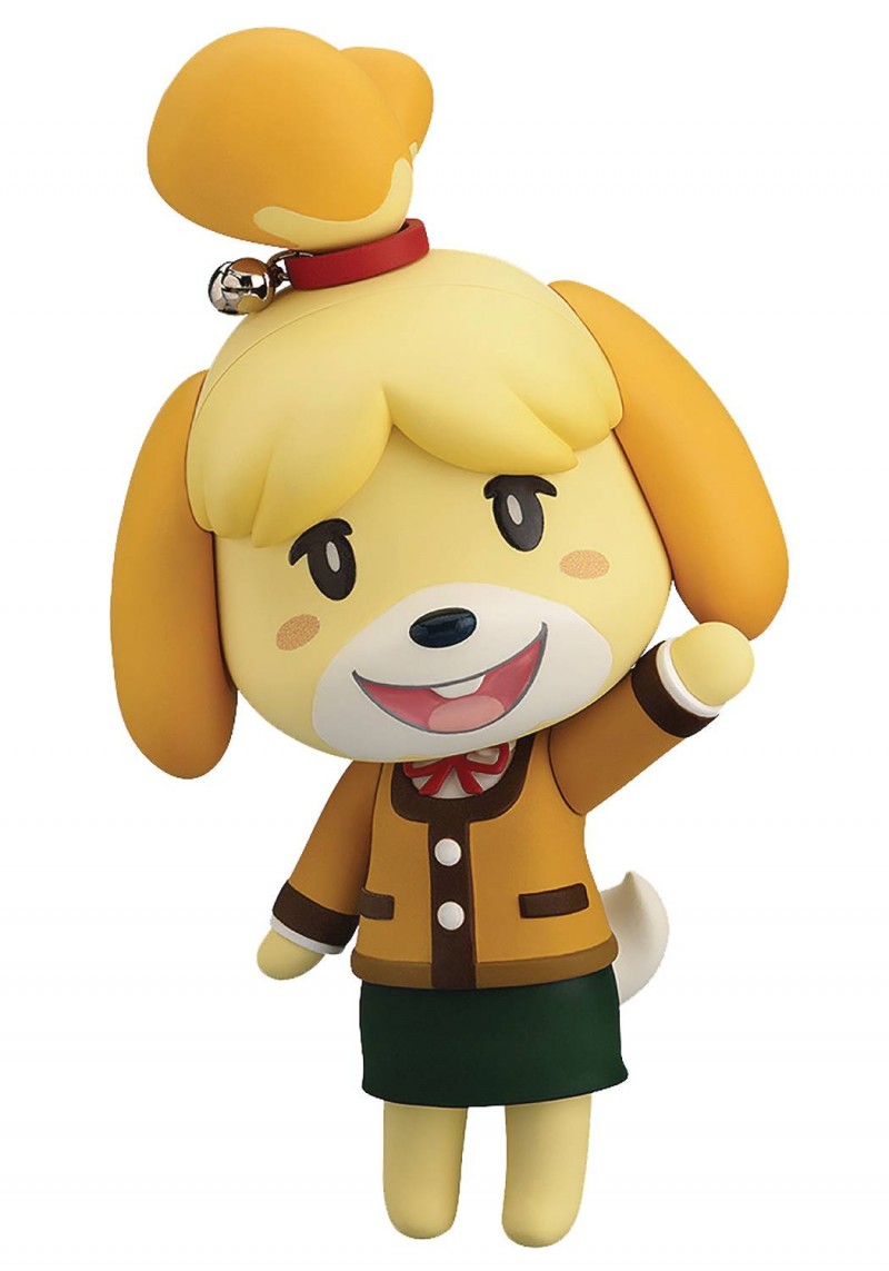 Animal Crossing Nendoroid New Leaf Shizue Isabelle Winter Version