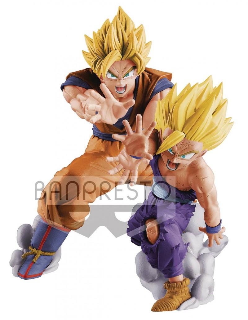 DBZ Vs Existence Figure Goku and Gohan