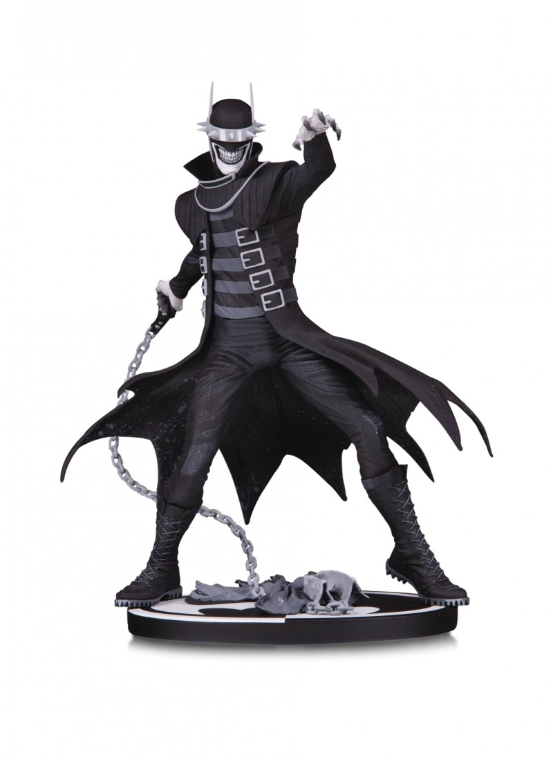DC Statue Batman Black and White Batman Who Laughs