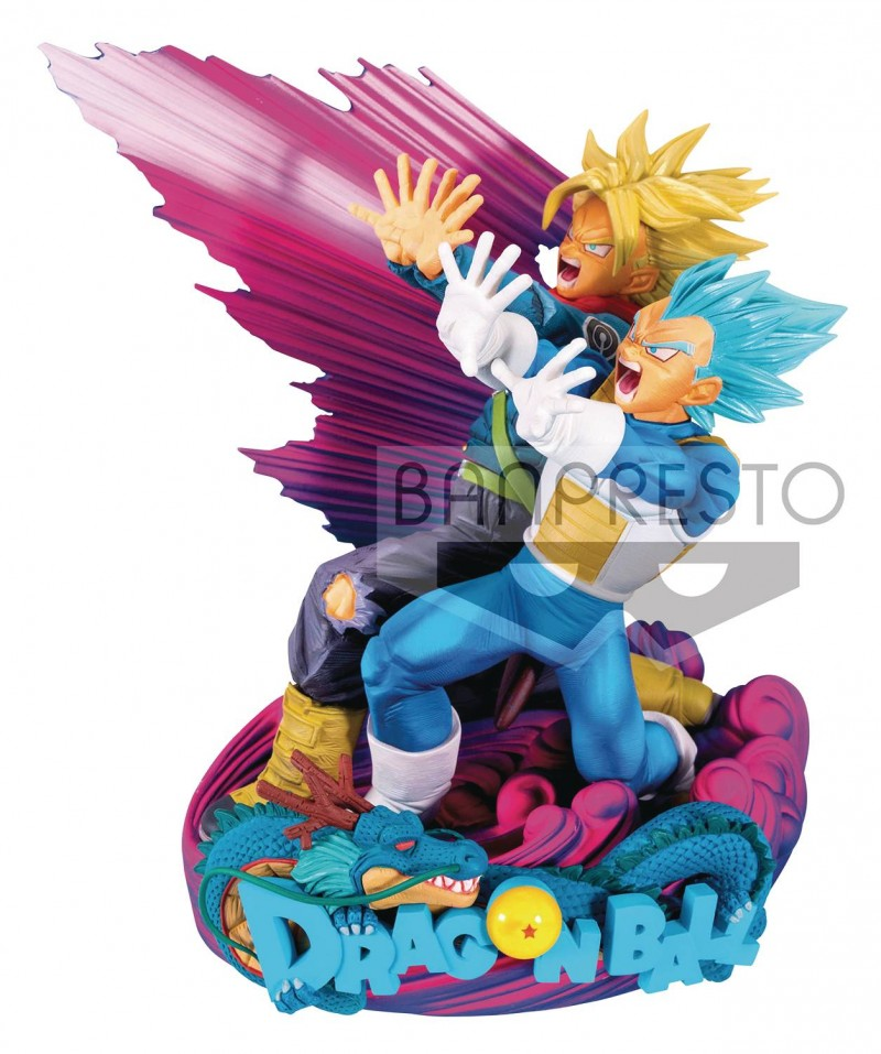 Dragonball Super MS Diorama II Vegeta and Trunks Brush II