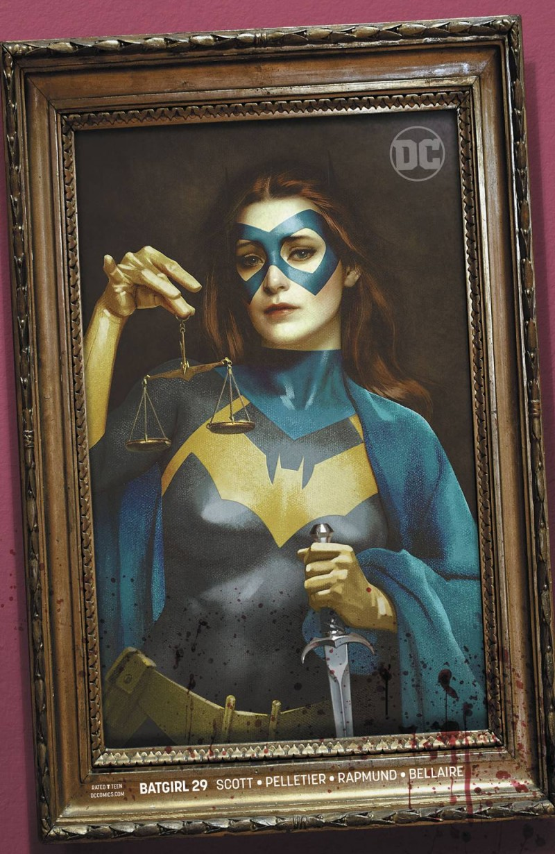 Batgirl V5 #29 CVR B