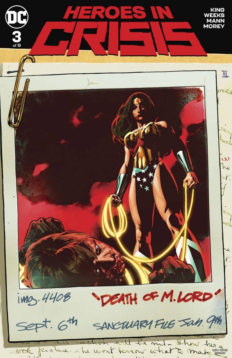 Heroes in Crisis #3 CVR B