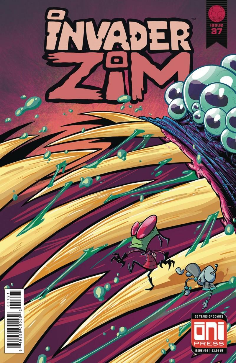 Invader Zim #37 CVR B