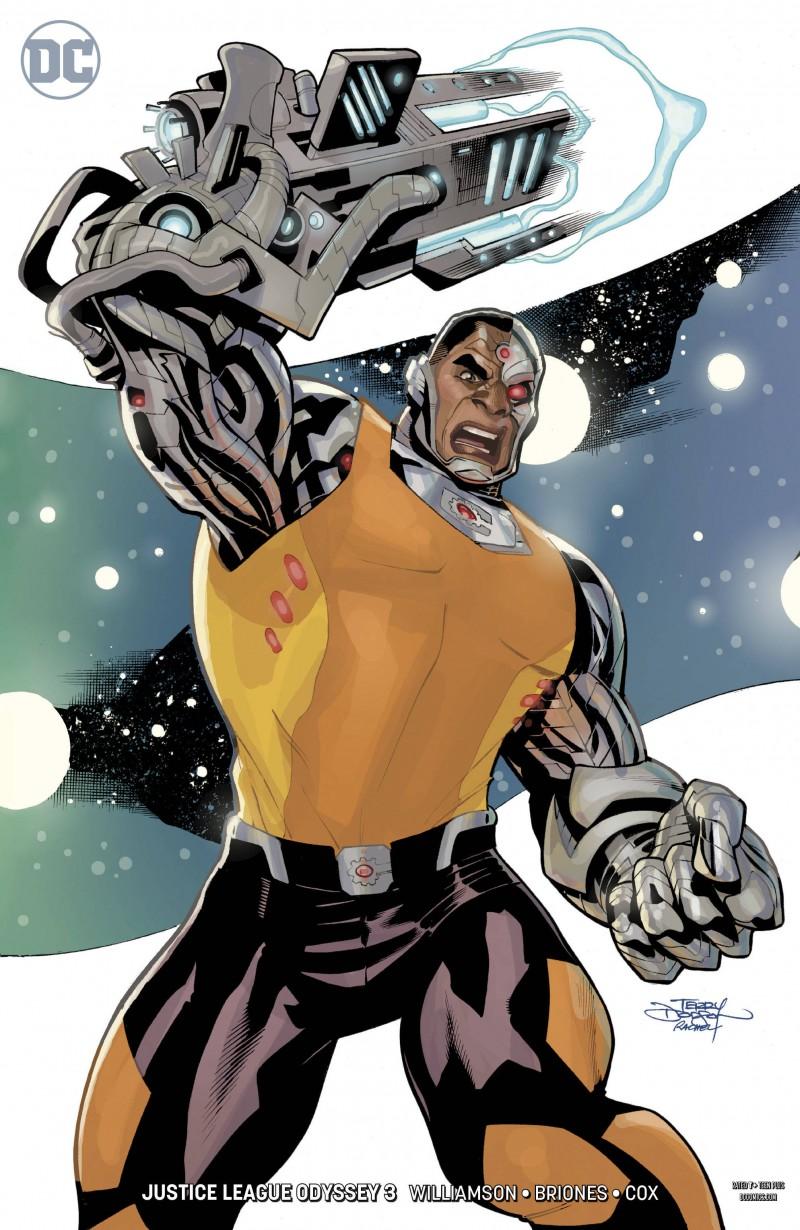Justice League Odyssey #3 CVR B