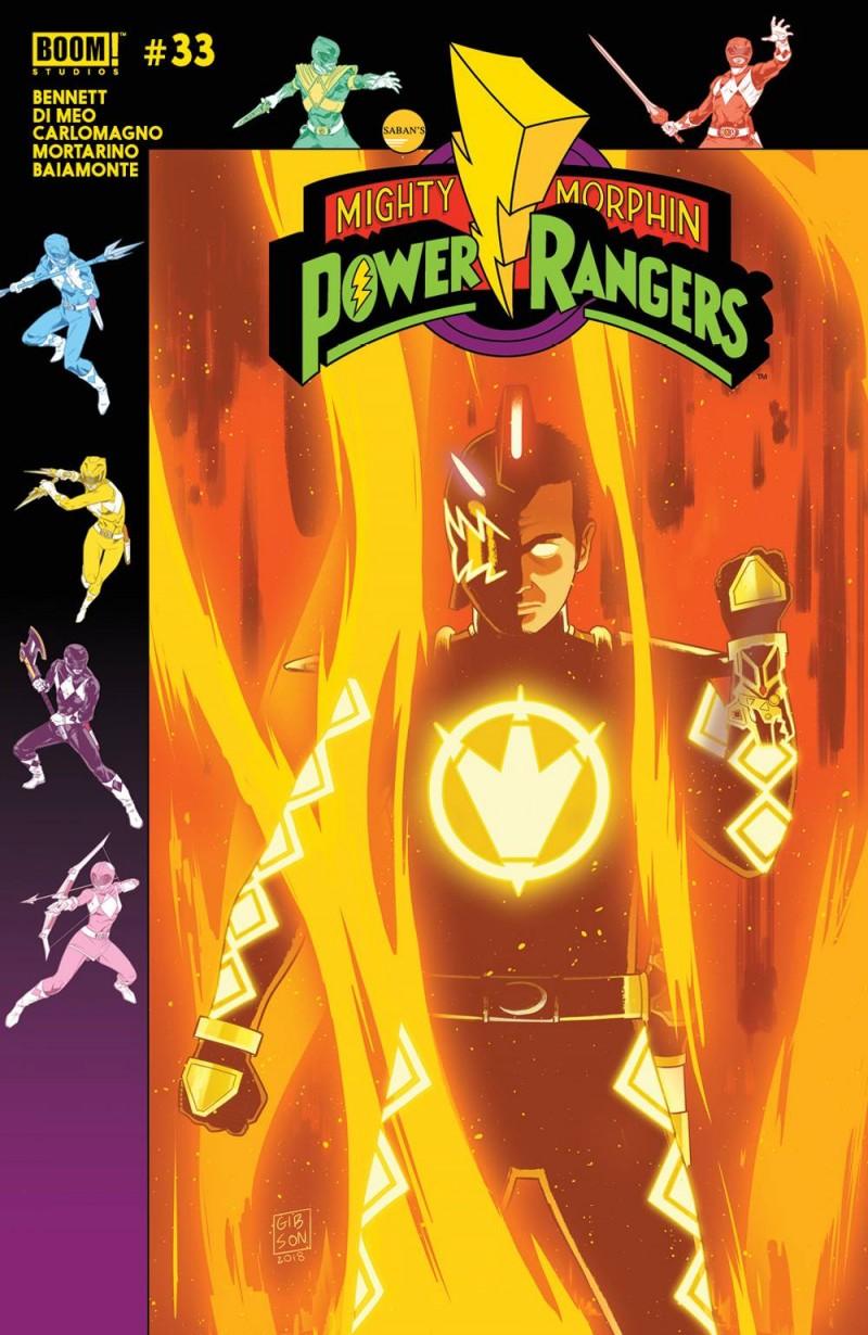 Mighty Morphin Power Rangers #33 CVR B