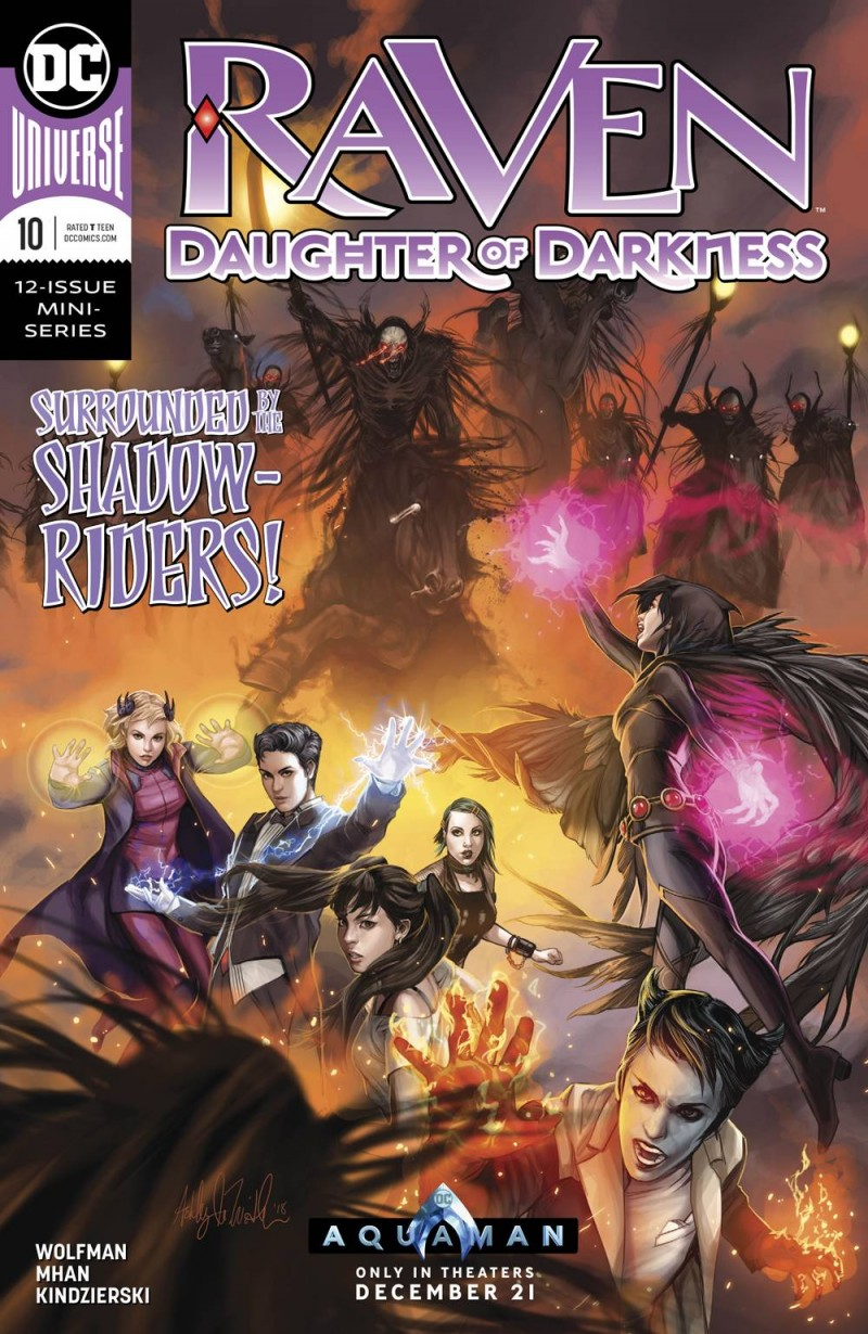 Raven Daughter of Darkness #10
