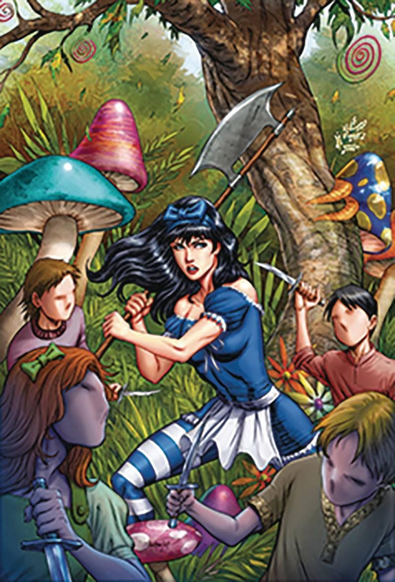 Revenge of Wonderland #5 CVR B Goh