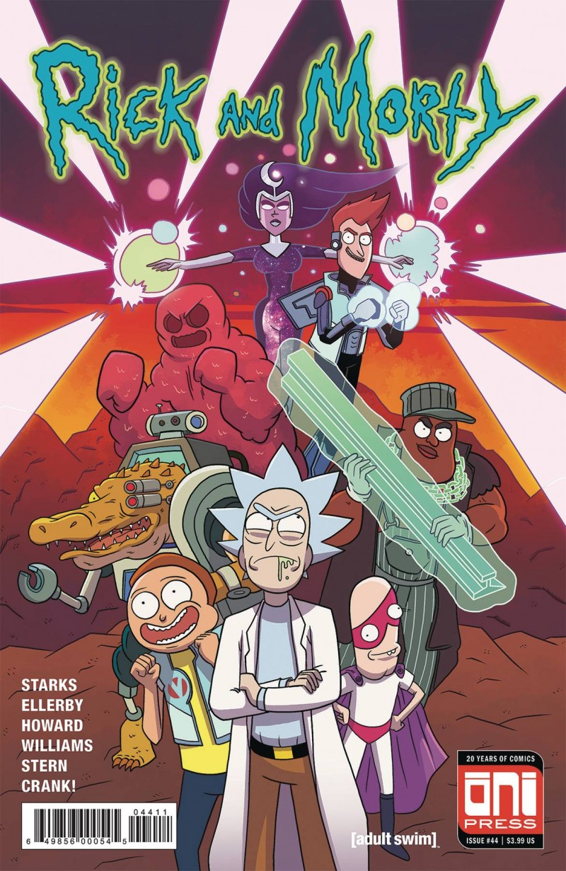 Rick and Morty #44 CVR A
