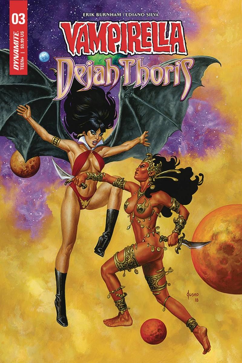 Vampirella Dejah Thoris #3 CVR D Jusko