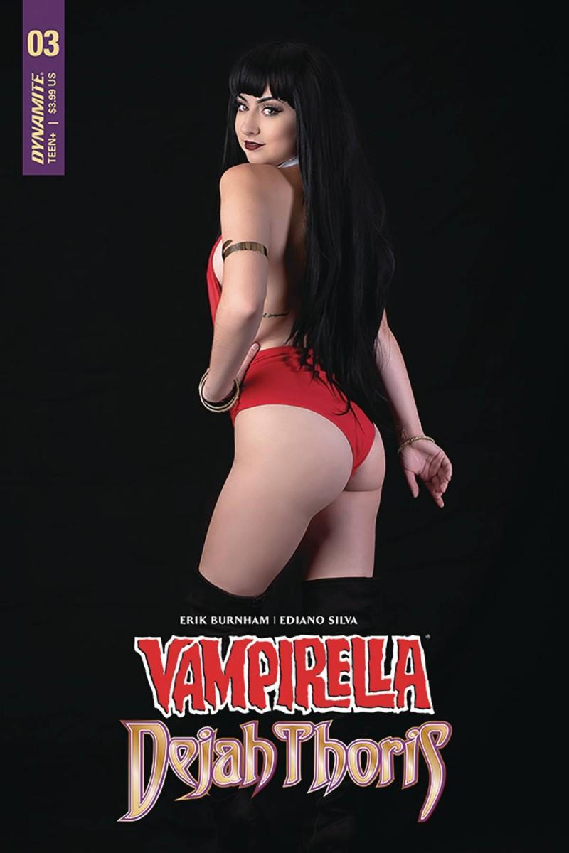 Vampirella Dejah Thoris #3 CVR E Vampirella Cosplay