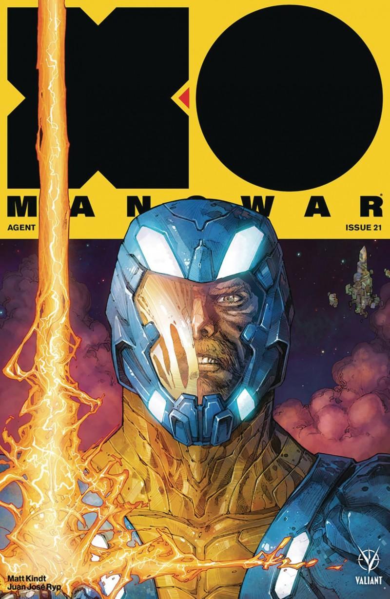 X-O Manowar V4 #21 CVR A Rocafort