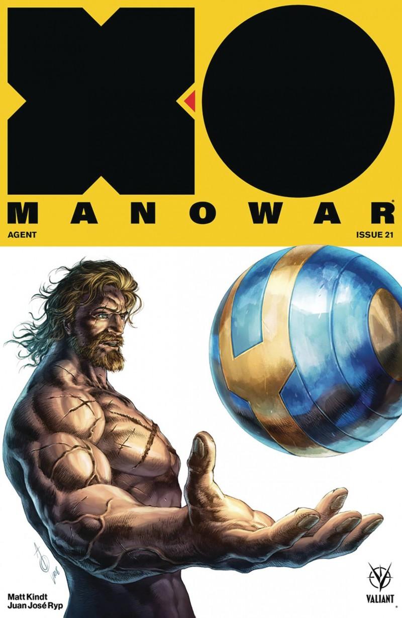 X-O Manowar V4 #21 CVR B Quah