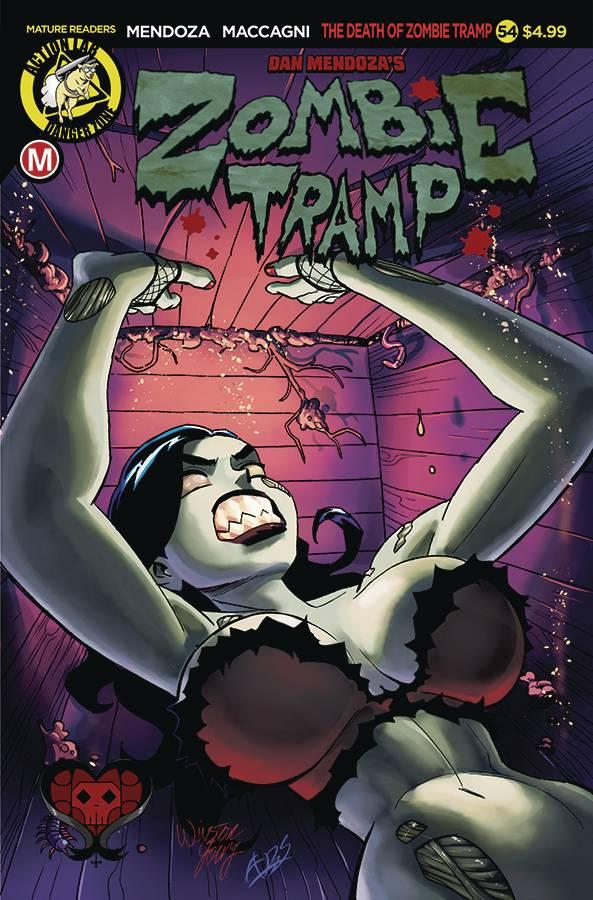 Zombie Tramp V3 #54 CVR A Winston Young
