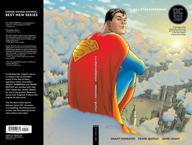 Superman TP All Star Superman Black Label Edition