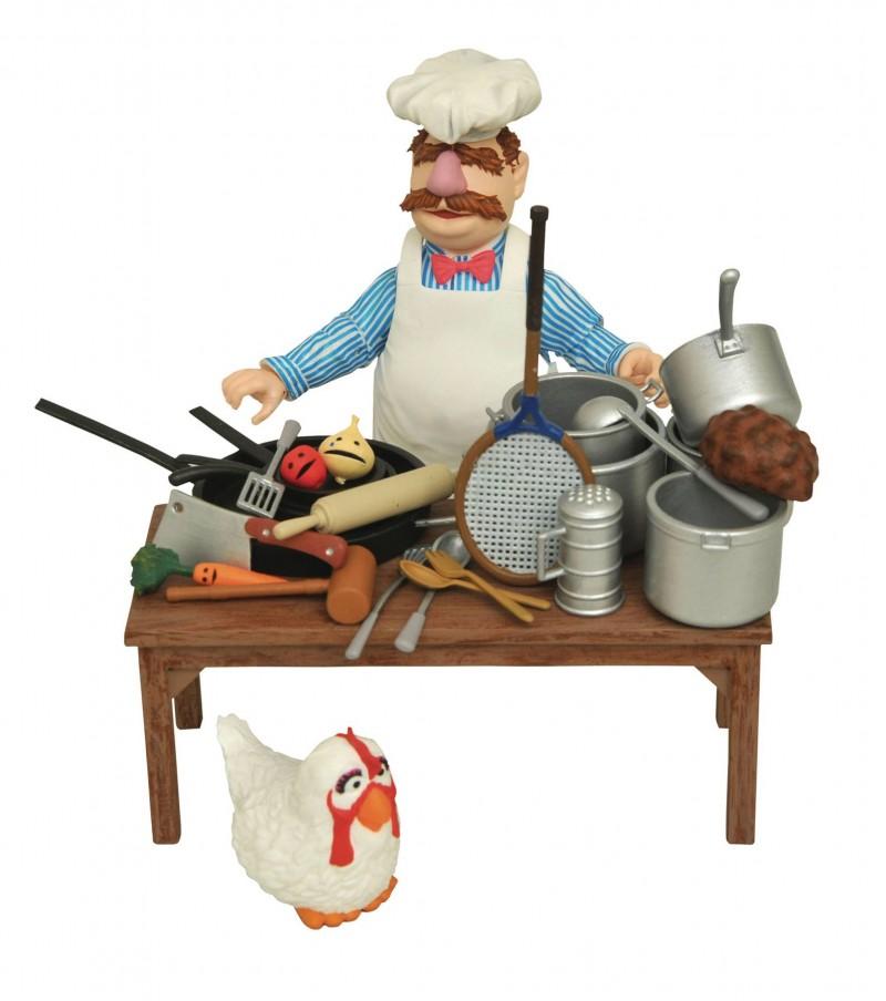 Muppets Select AF Swedish Chef Deluxe Figure Set