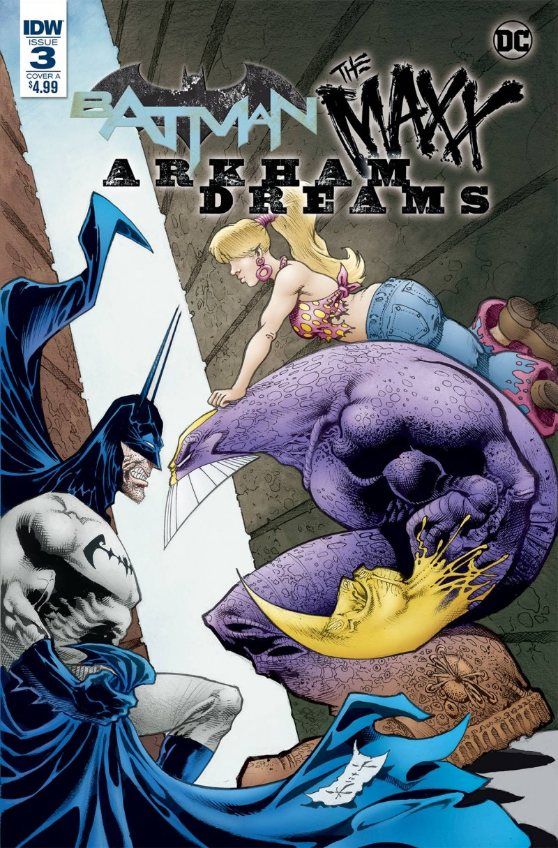 Batman the Maxx Arkham Dreams #3 CVR A